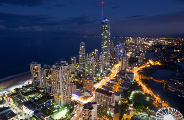 Gold Coast Australia Night Gold Coast Australia …