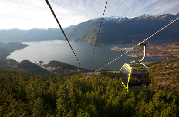 British Columbia's Sea To Sky Gondola Opens A Once Unreachable World