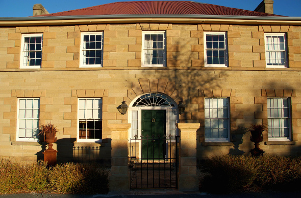 Historic manor in Oatlands, Tasmania