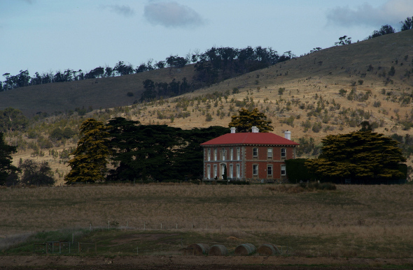 A heritage home in Tasmania