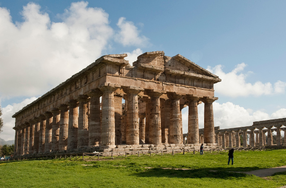 Temple of Hera II at Paestum