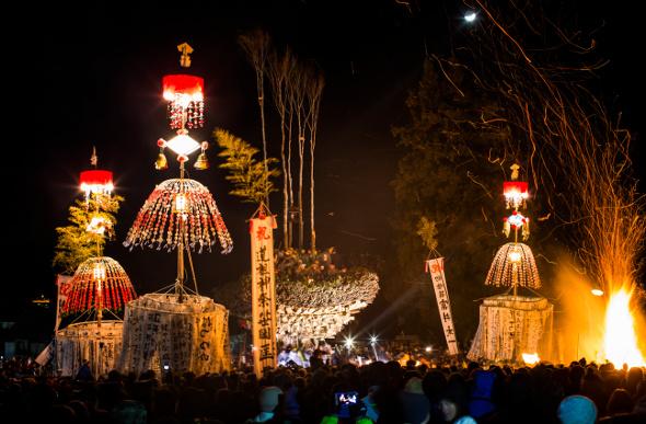 Dosojin Matsuri Festival