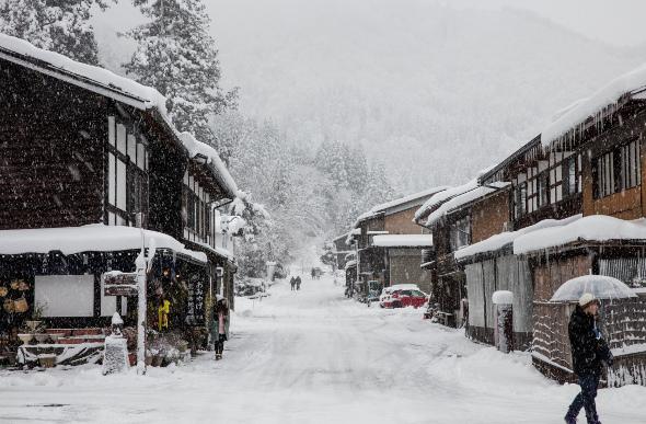 Shirakawa-go in Japan