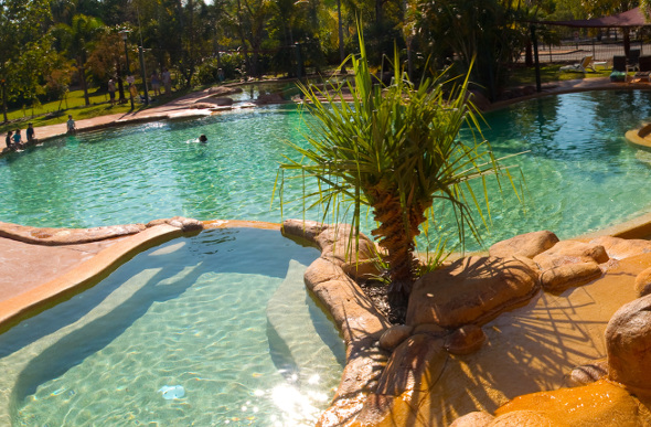 Swimming pool in Kakadu National Park