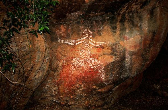 Stunning Aboriginal rock art at Ubirr in the Northern Territory.