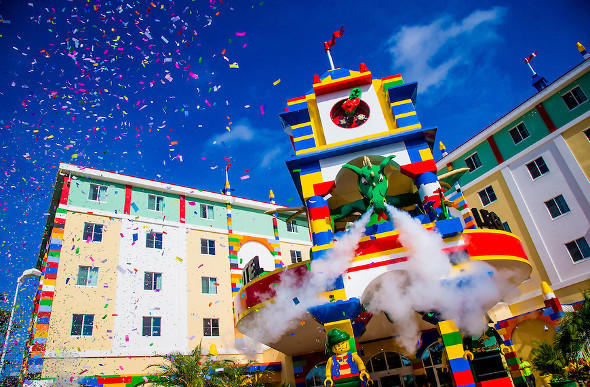 Everything Is Awesome At The New LEGO Hotel