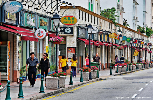 Taipa Island shopping