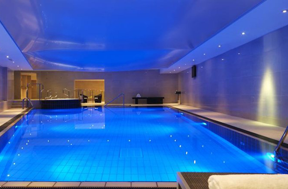 Swimming pool at the Radisson Blu Edwardian Manchester