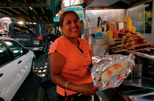 Queens street food