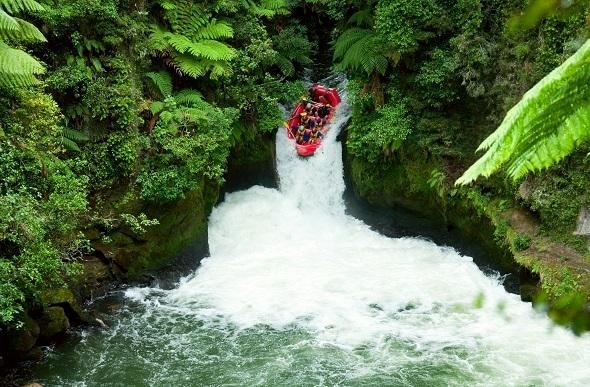 Kaituna River white water rafting.