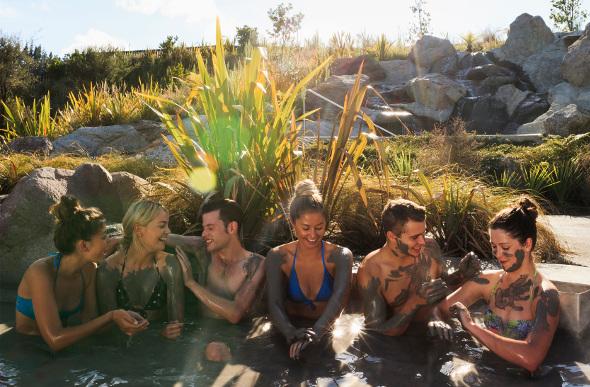 Rotorua mud bath