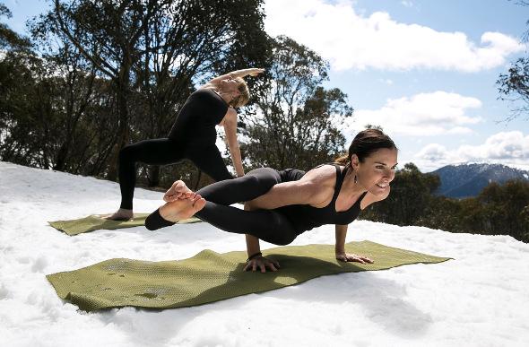 Australia's Snowga & Yoga Retreats