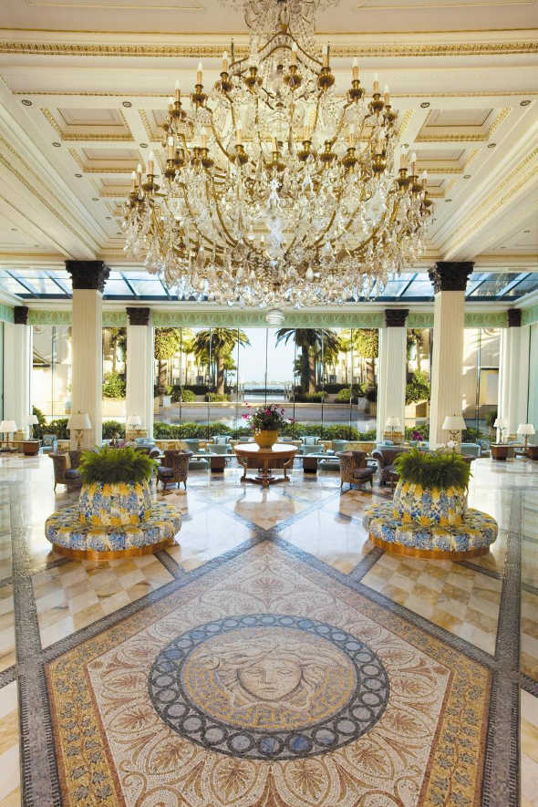 The World S Most Opulent Hotel Lobbies
