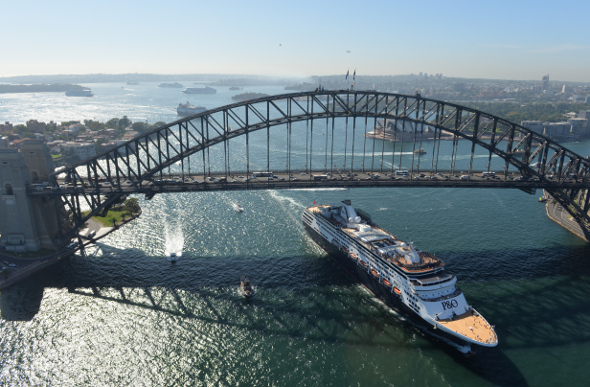 P&O Godmothers Name Pacific Aria & Pacific Eden In Sydney