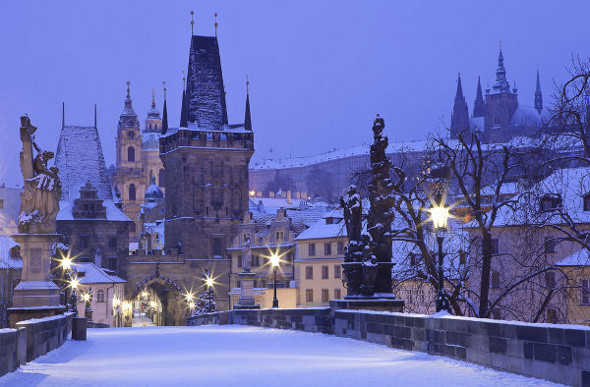 Rug Up And Explore Prague In Winter