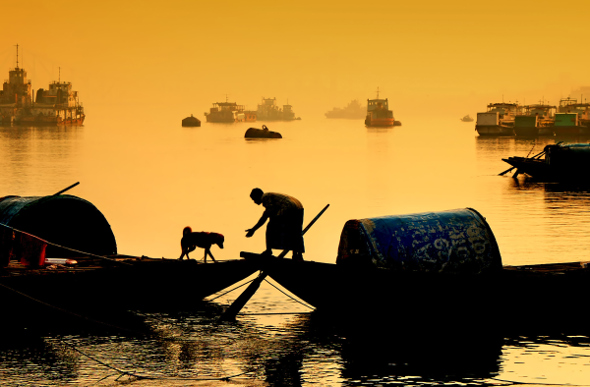 The Lower Ganges offers snapshots of local life in India. Picture: Getty Images