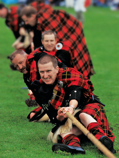 Top 10 highland games