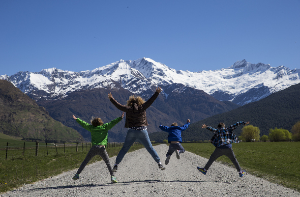 Party Of Five: Road-Tripping The South Island On 4 Wheels With 3 Kids