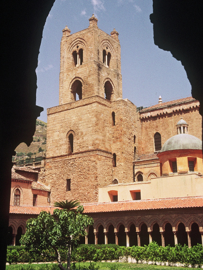 Monreale cathedral and cloisters