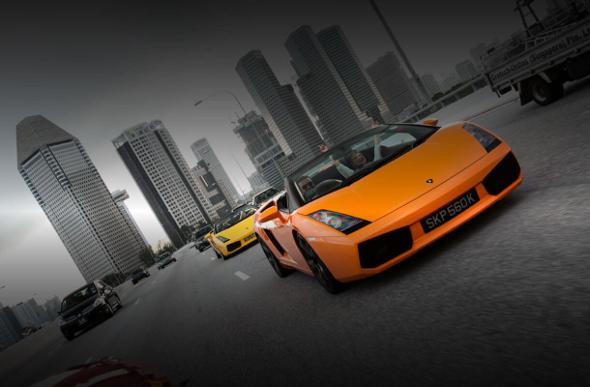 F1 driving singapore