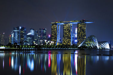 Lion City Lights Up For The Singapore Grand Prix