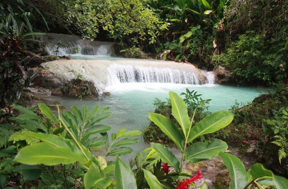 The picturesque Mele Cascades in Vanuatu. Picture: Getty Images
