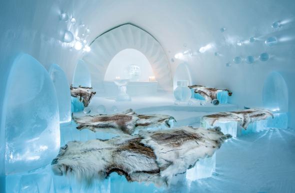 Jukkasjarvi Icehotel in Sweden