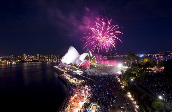 Top Australian New Year's Eve Experiences