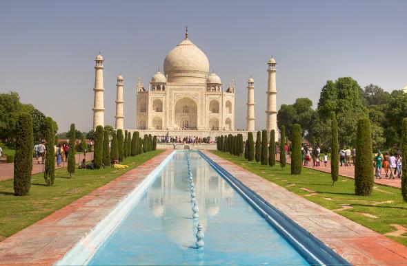 Greatness Found At India's Taj Mahal