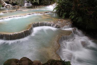 Tat Kuang Si, Luang Prabang, Laos. Photography by Kok Leng Yeo