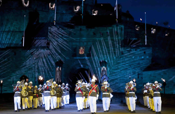British Brigadier Brings The Royal Edinburgh Military Tattoo To Melbourne