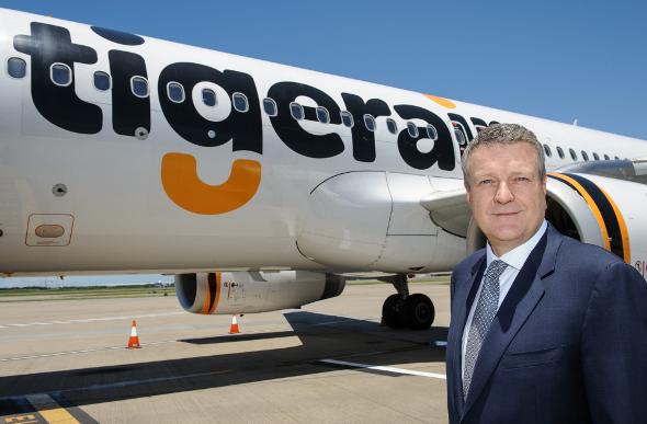 Tigerair CEO Rob Sharp
