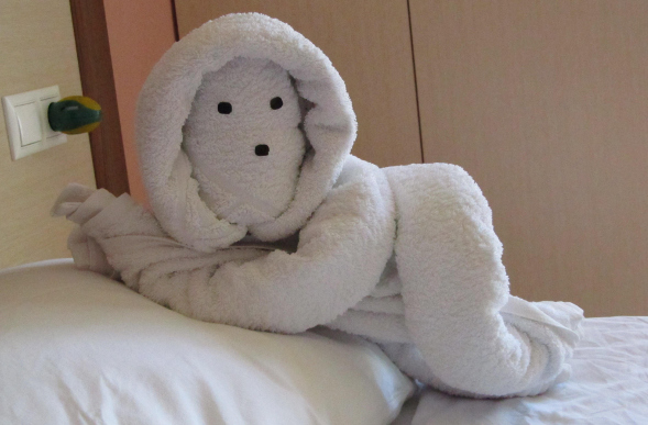 Towel Origami From Around The World