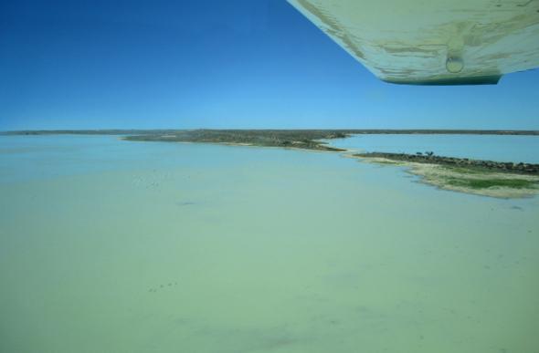 Lake Eyre scenic flight