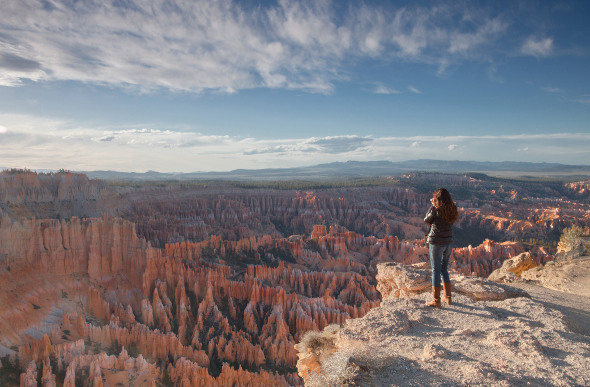 The view of Bryce Canyon from Sunrise Point. Picture: Getty Images