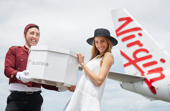 Virgin Australia Gets Punters Race-Day Ready With Hat Valet