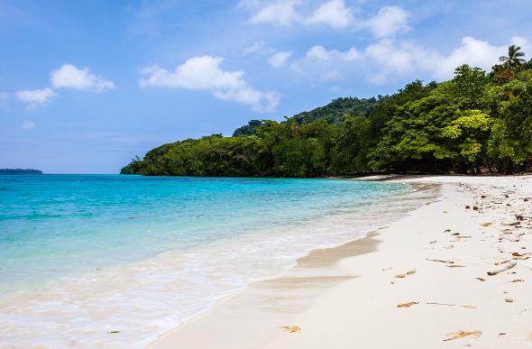 Champagne Beach on Espiritu Santo