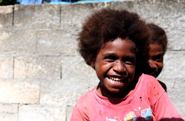 Friendly local in Vanuatu