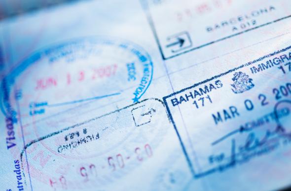Visa customs