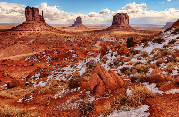 4 Grand Vistas In Western USA