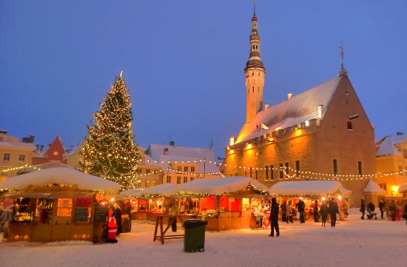 tallinn is a completely different world to what were used to in australia image getty - What Is A White Christmas