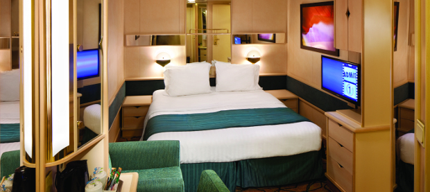 Cruise ship cabin