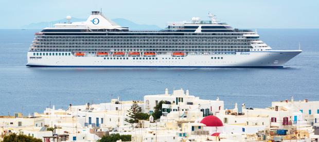 Ocean cruise liner