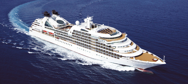 Large luxury cruise ship