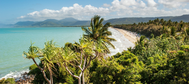 Port Douglas tropical coastline
