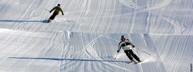 Skiing at Falls Creek