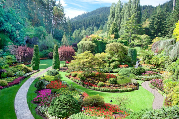 The world 39 s best gardens - Best time to visit butchart gardens ...