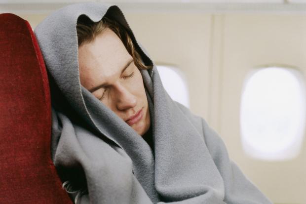 life hacks  make an airplane sleep kit