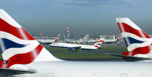 British Airways Flying London Gatwick Direct To New York