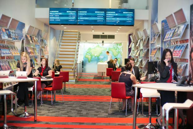 Flight Centre travel agents